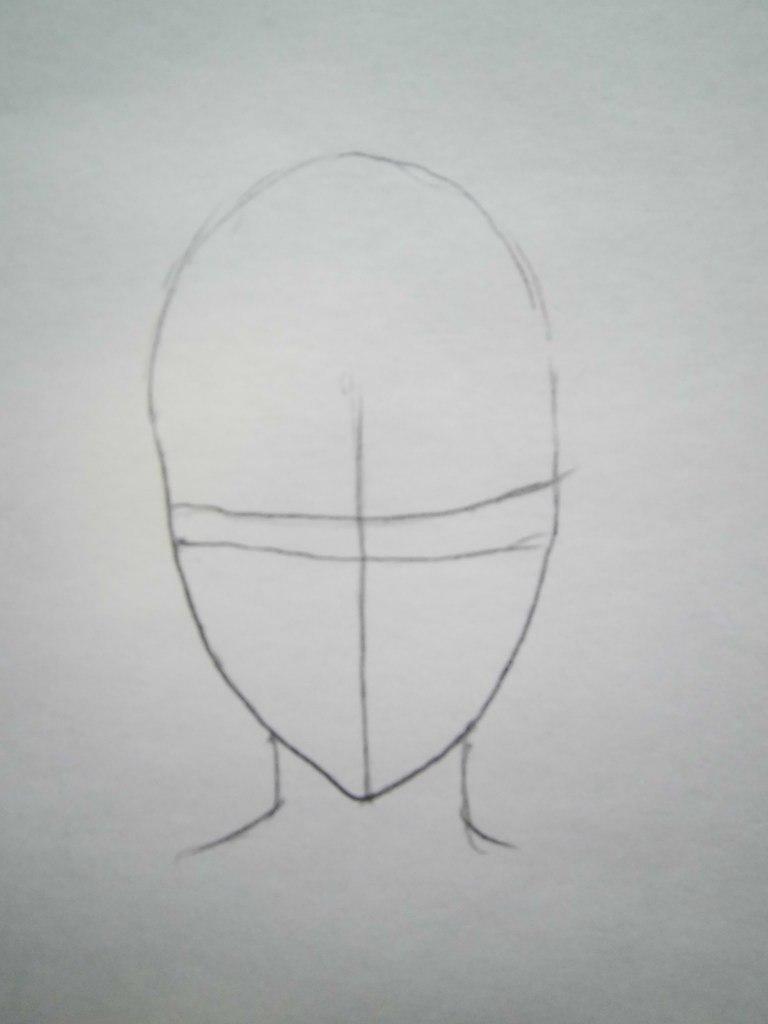 Как нарисовать Кёя Хибари из аниме Реборн карандашом