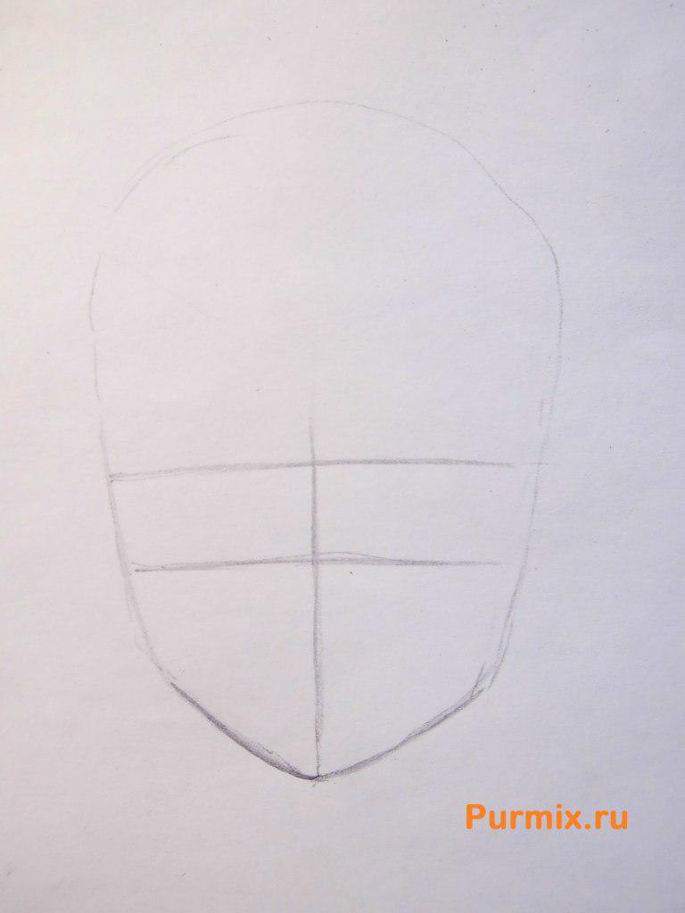 Рисуем Аи Судзуно из аниме Монохромный фактор