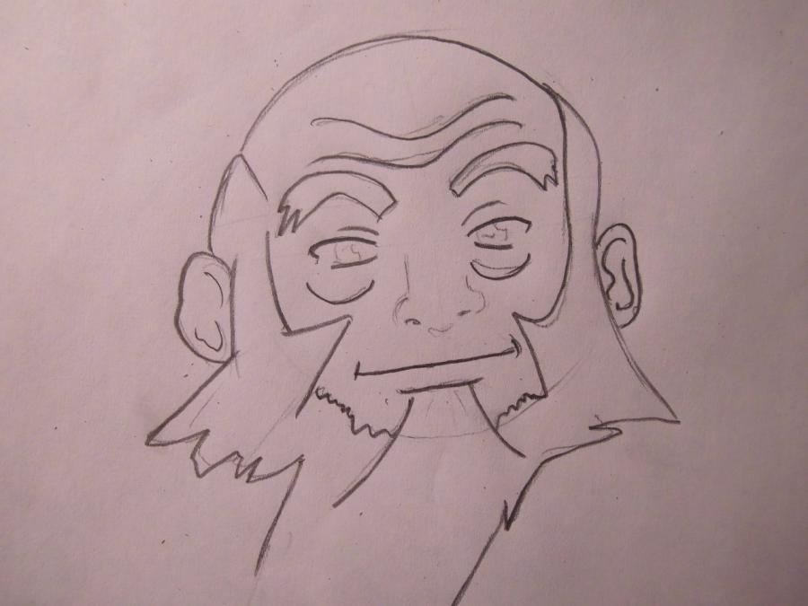 Рисуем Айро из аниме Аватар