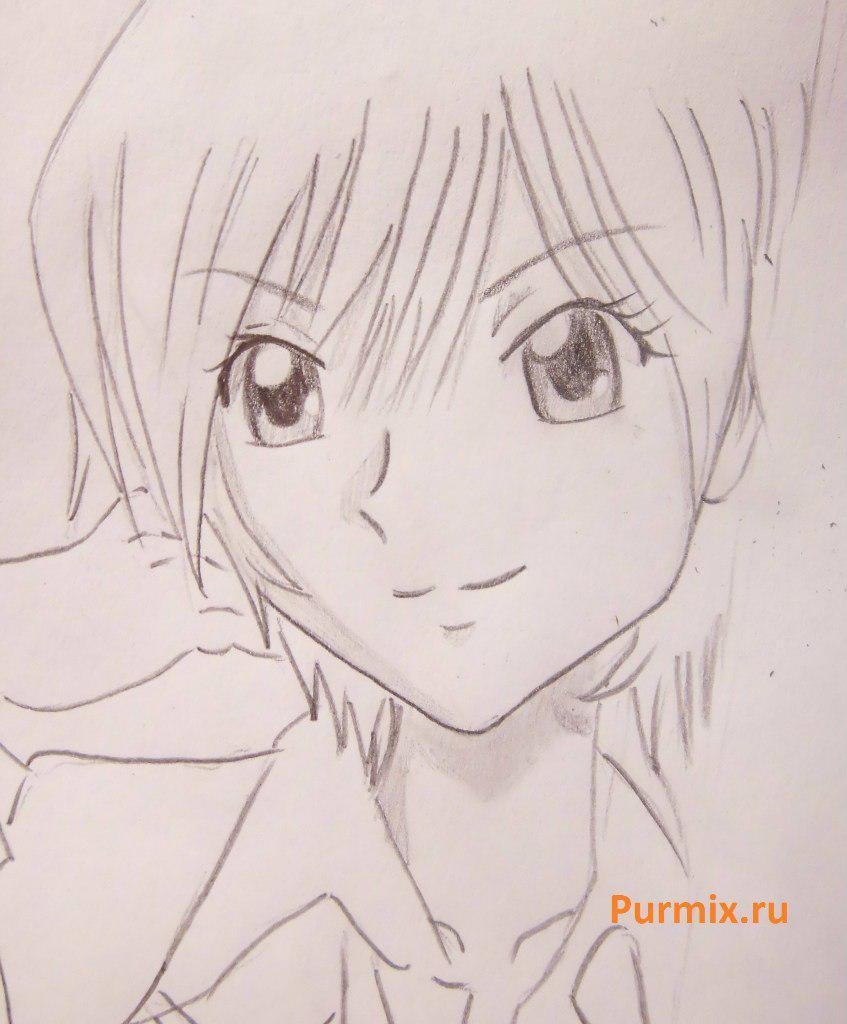 Как нарисовать Акира Тодо из аниме Спецкласс «А» карандашом