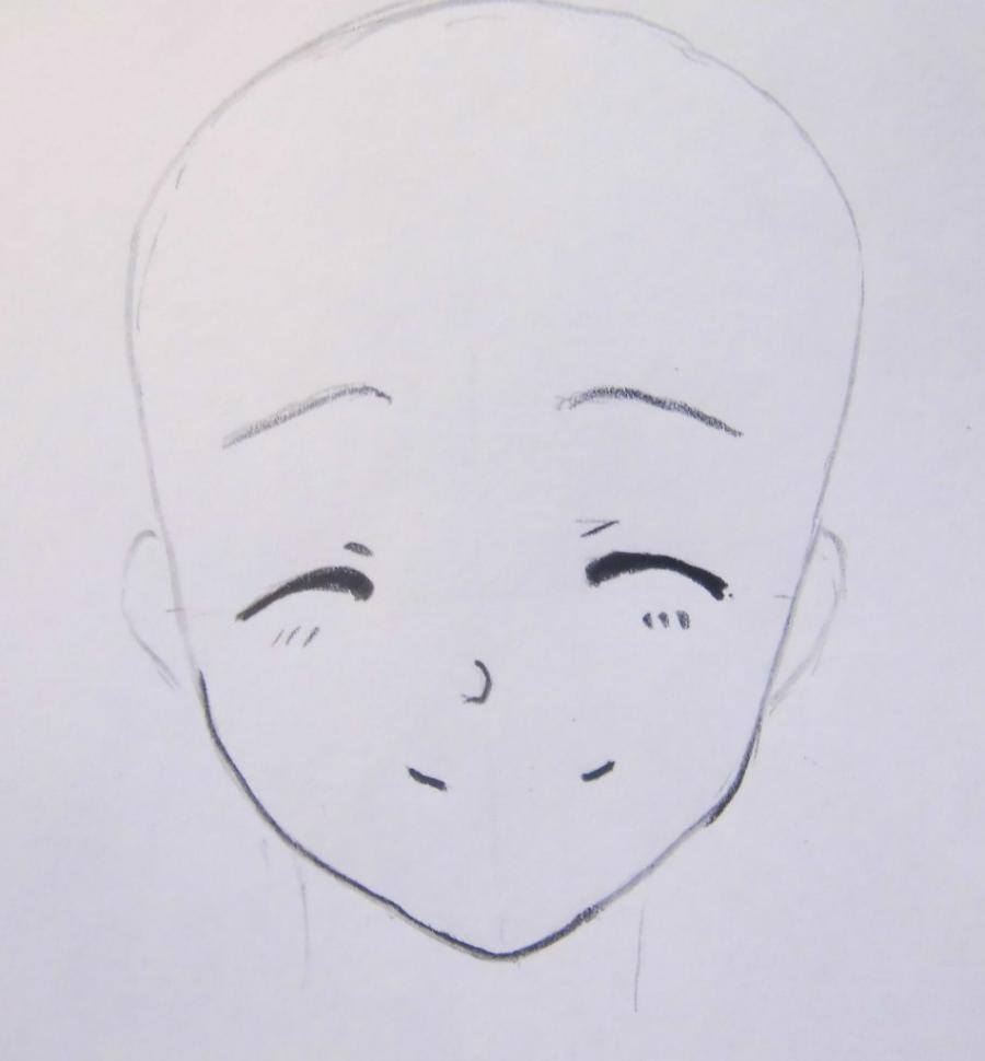 Как нарисовать Альфонса Элрика из аниме Стальной алхимик