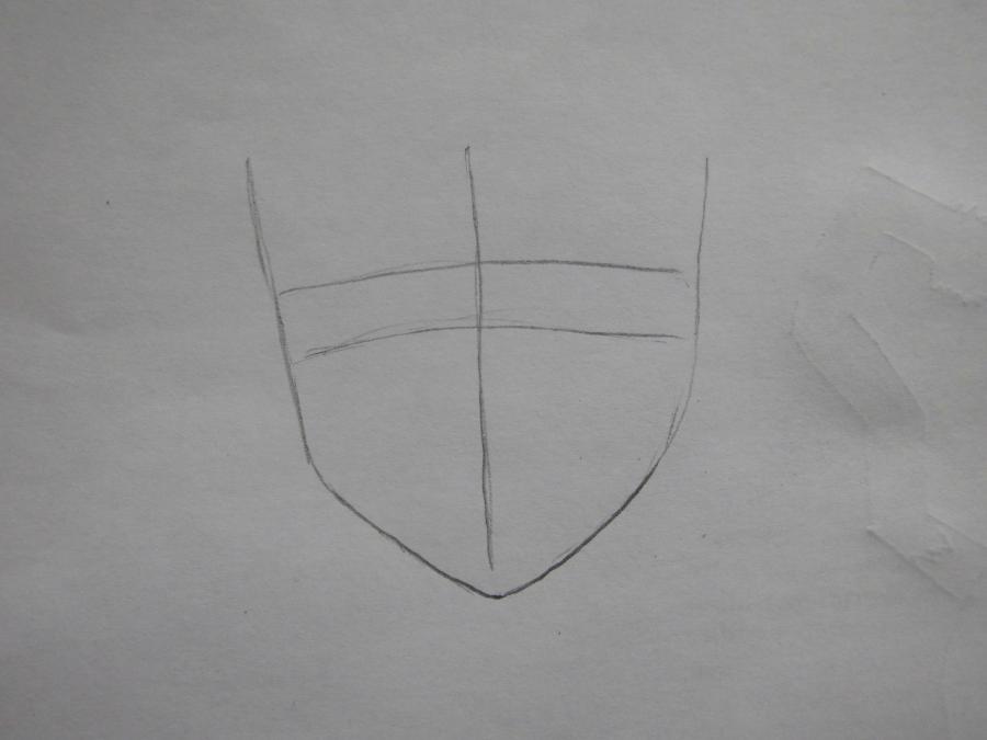 Рисуем Аллена Уолкера из аниме Ди.Грей - мен карандашами - шаг 1
