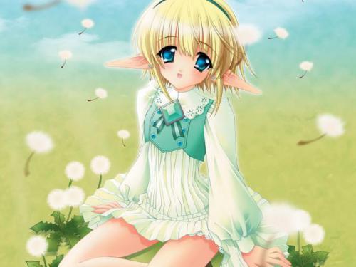 Рисуем аниме девочку эльфа
