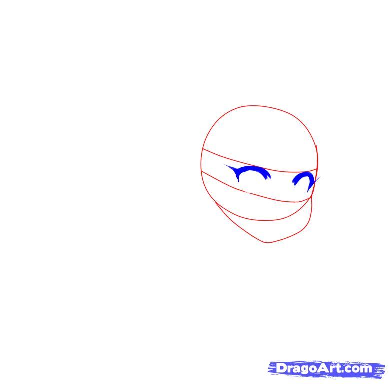 Как нарисовать аниме девушку зайку