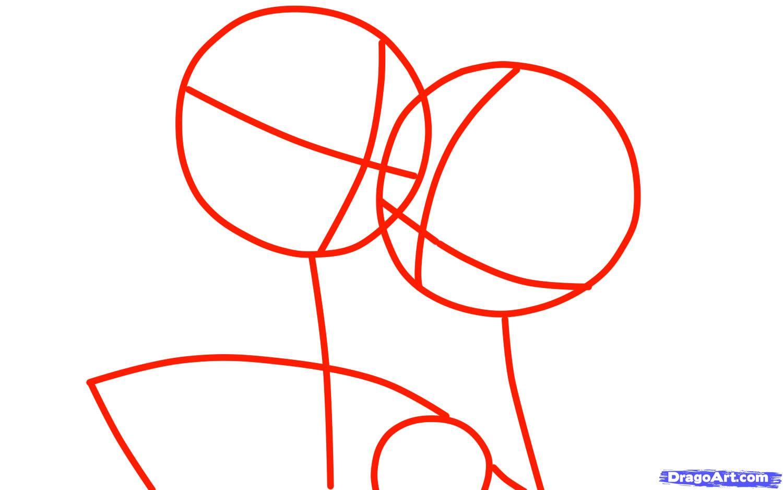начните рисовать круги для