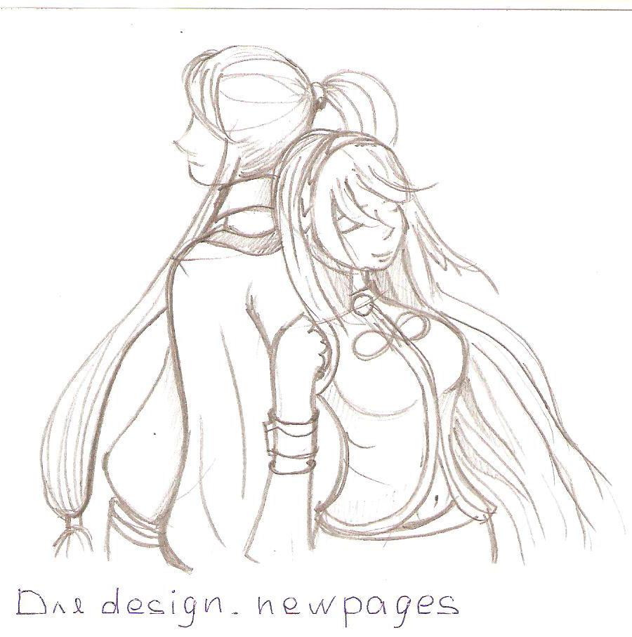 Обнимаются аниме картинки