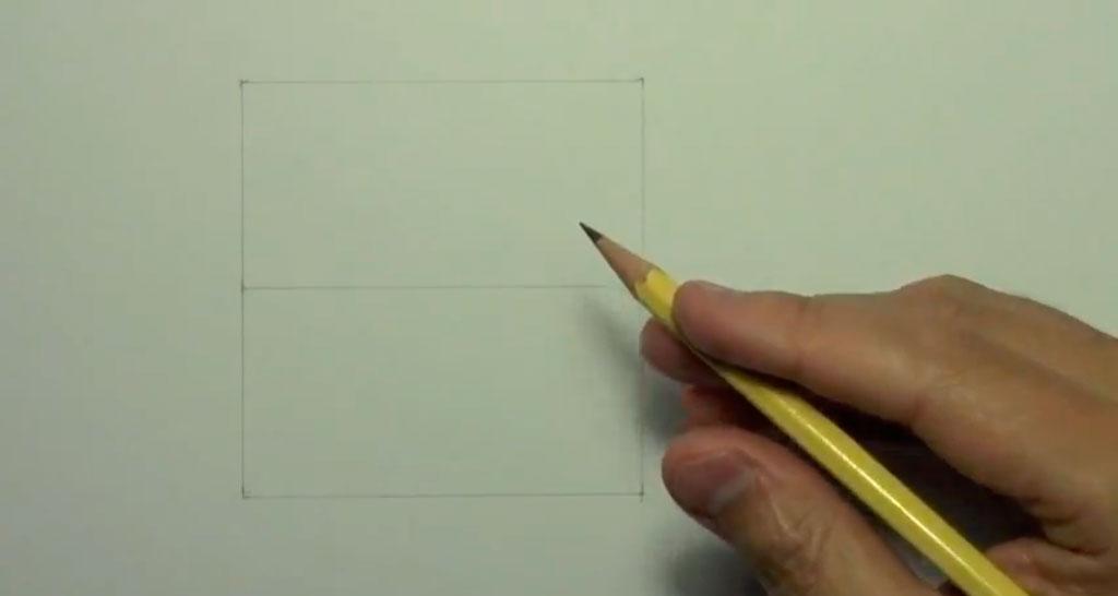 Рисуем аниме поцелуй в щеку - шаг 1