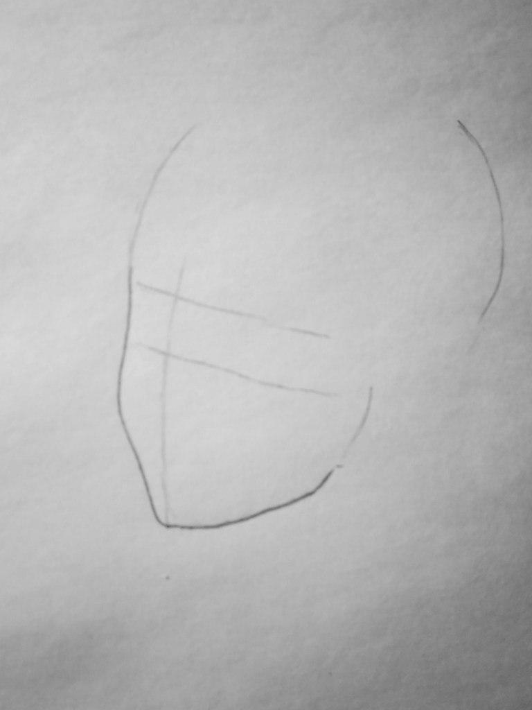 Как нарисовать Армина Арлерта из аниме Востание титанов