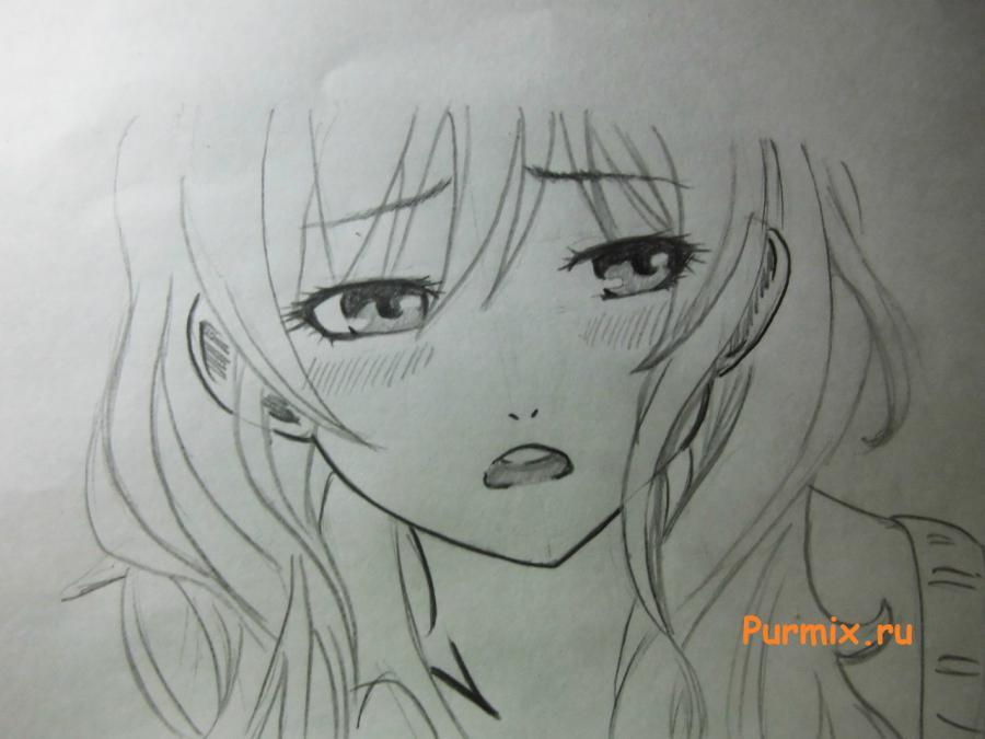 Рисуем Асако Нацумэ из аниме Монстр за соседней партой