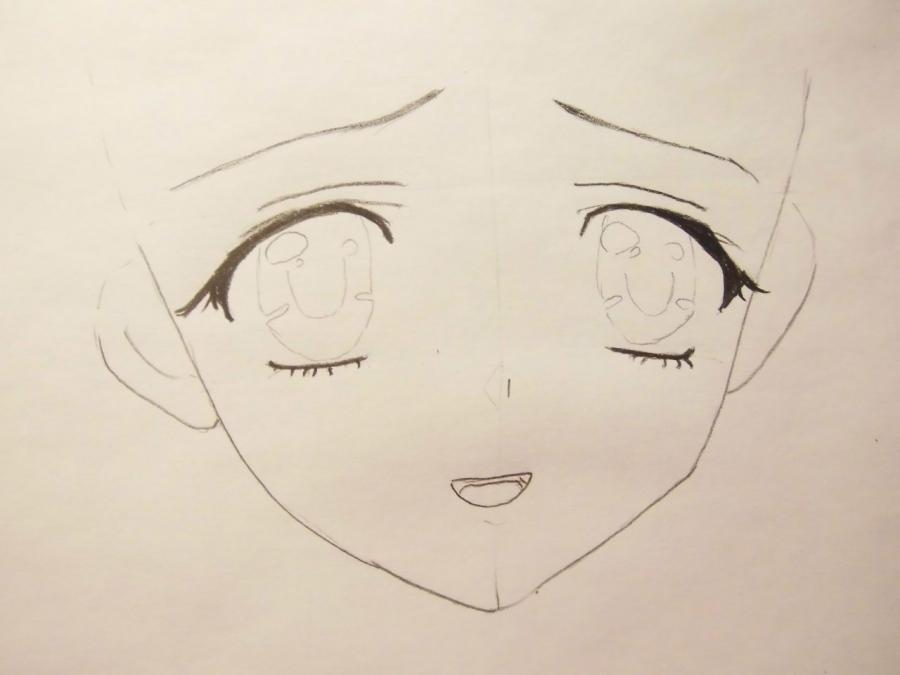 картинки аниме легко срисовать