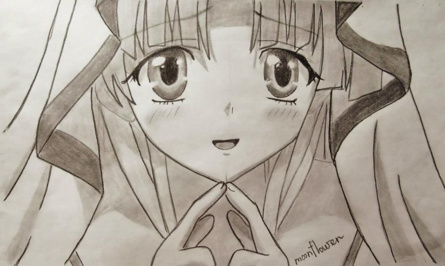 Как нарисовать Асию Ардженто из аниме Демоны старшей школы