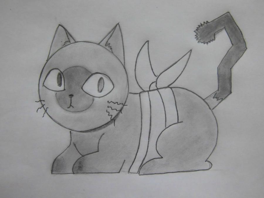 Рисуем Бабо из аниме Sankarea