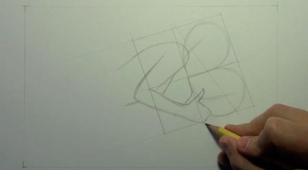 Рисуем аниме пару карандашами - фото 2
