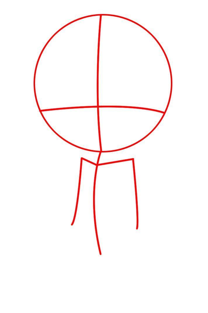 Как нарисовать чиби девочку карандашом поэтапно