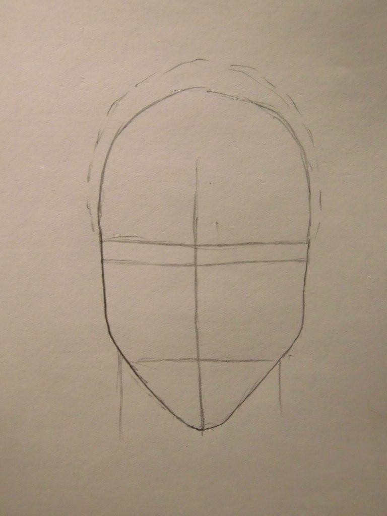 Как нарисовать Цумэ из Волчий дождь карандашом поэтапно