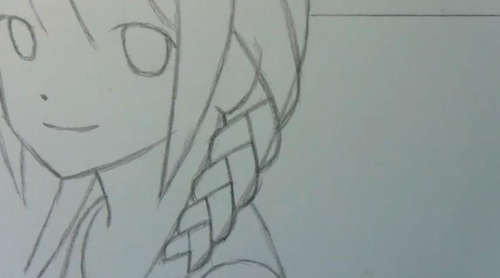 Как я красиво рисую аниме