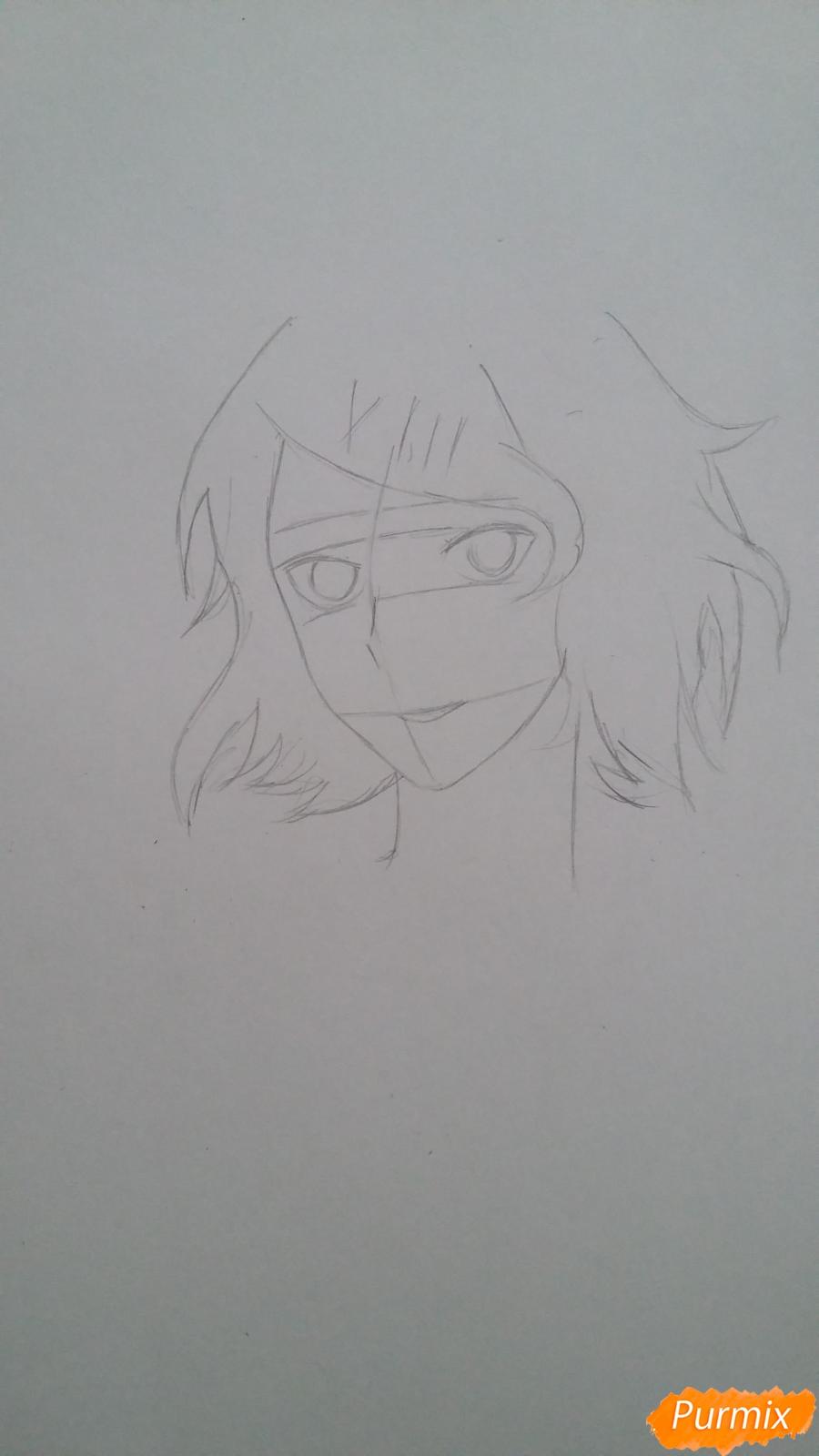 Рисуем портрет Дзюдзо Судзую - фото 2