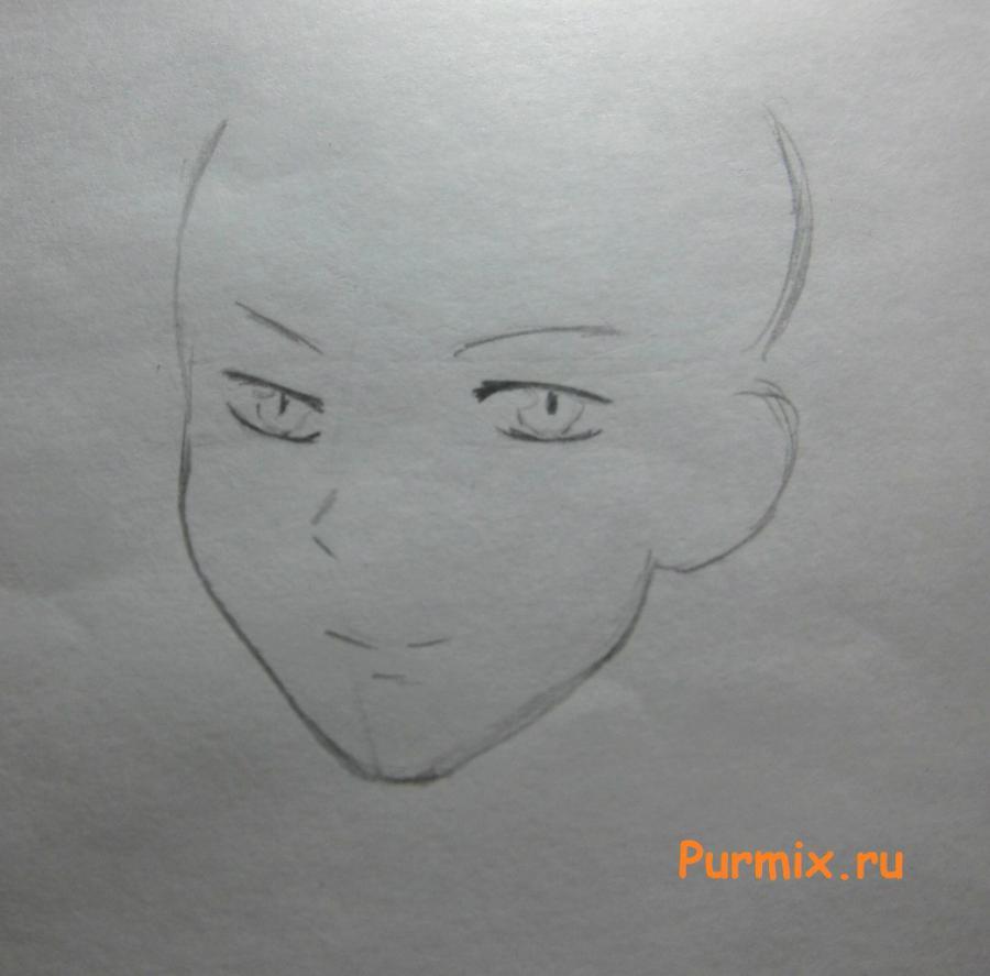 Рисуем Ёсиду Юудзан из аниме Монстр за соседней партой