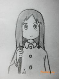 Ёсино Наганохару из аниме Мелочи жизни
