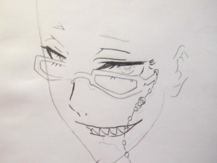 Рисуем аниме тёмный дворецкий