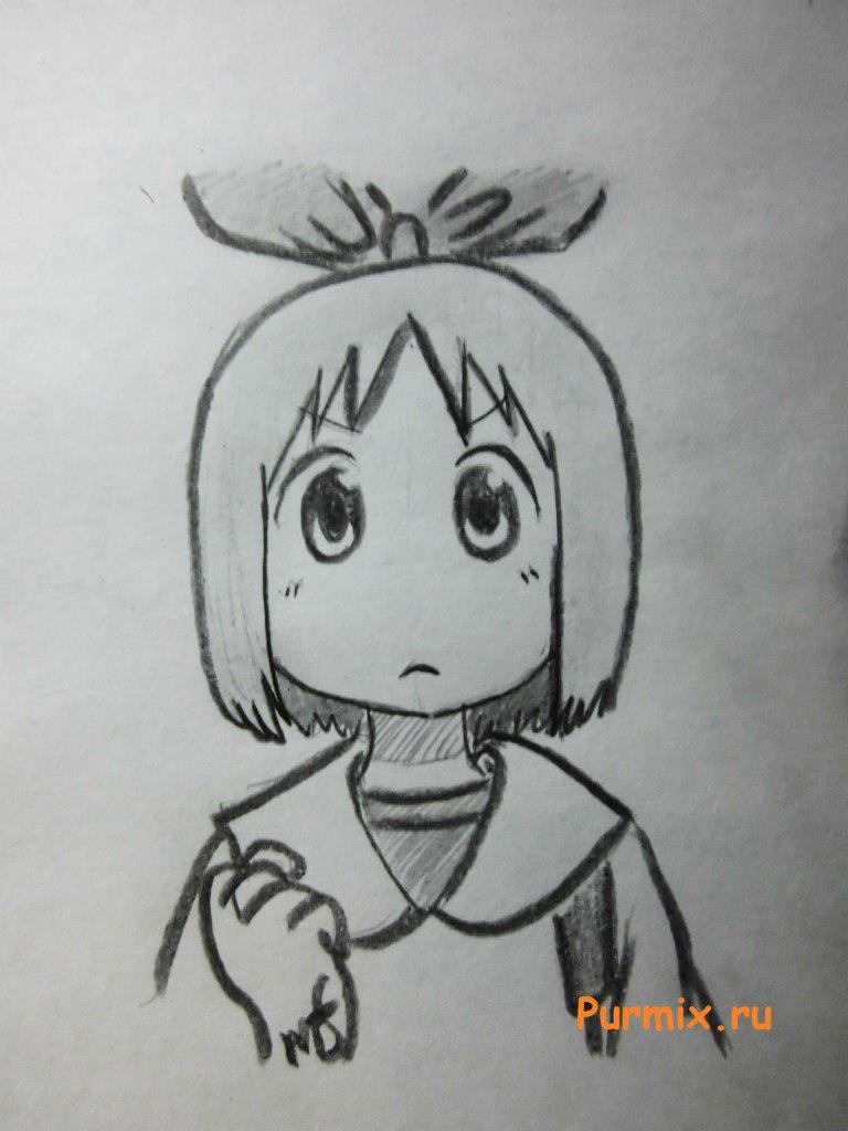 Рисуем Харуну Аннаки из аниме Мелочи жизни