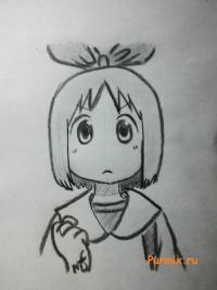 Харуну Аннаки из аниме Мелочи жизни