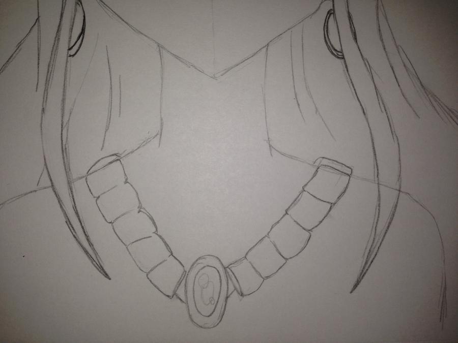 Рисуем Хисуи Е. Фиор из Fairy Tail - шаг 8