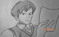 Хондзё из аниме Ветер крепчает