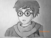 Хорикоси Дзиро из аниме Ветер крепчает карандашом