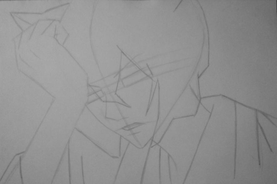 Рисуем и раскрасить Томоэ карандашами - фото 5