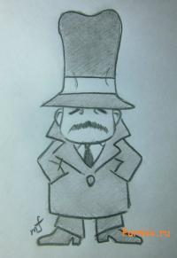 инспектора из Неуловимая воровка Рейня