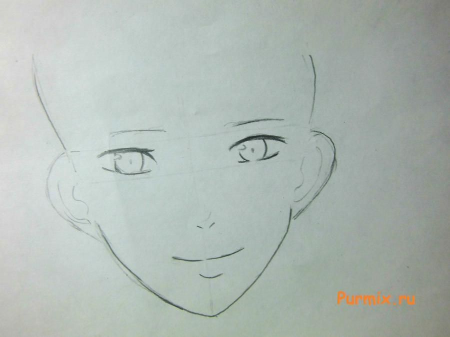 Рисуем Йошиде Хару из аниме Монстр за соседней партой