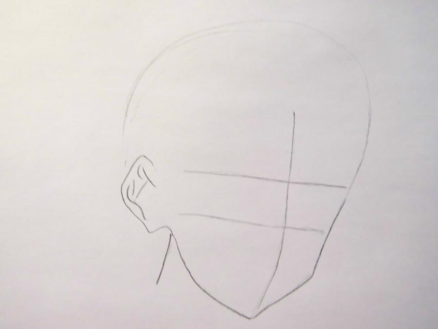 Рисуем Иссэй Хёдо из Демоны старшей школы