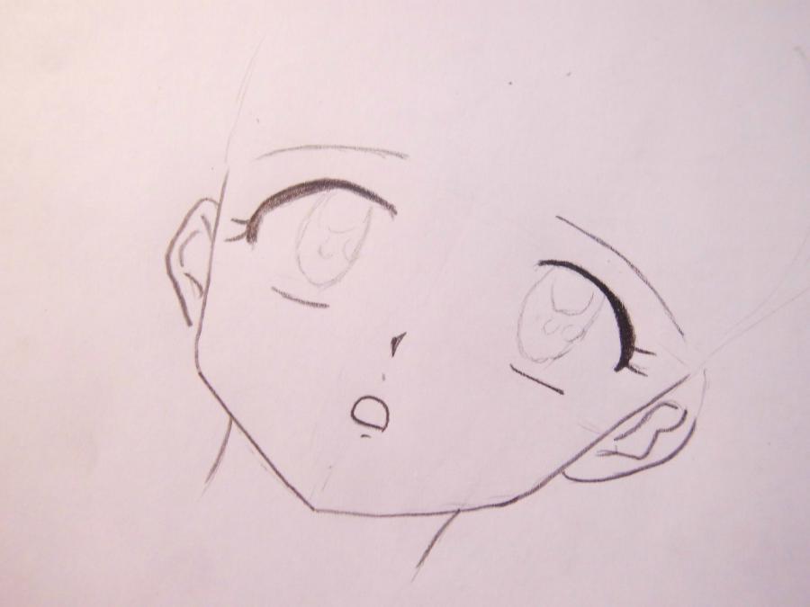 Как нарисовать Кагомэ Хигураси из аниме Пес демон-хранитель