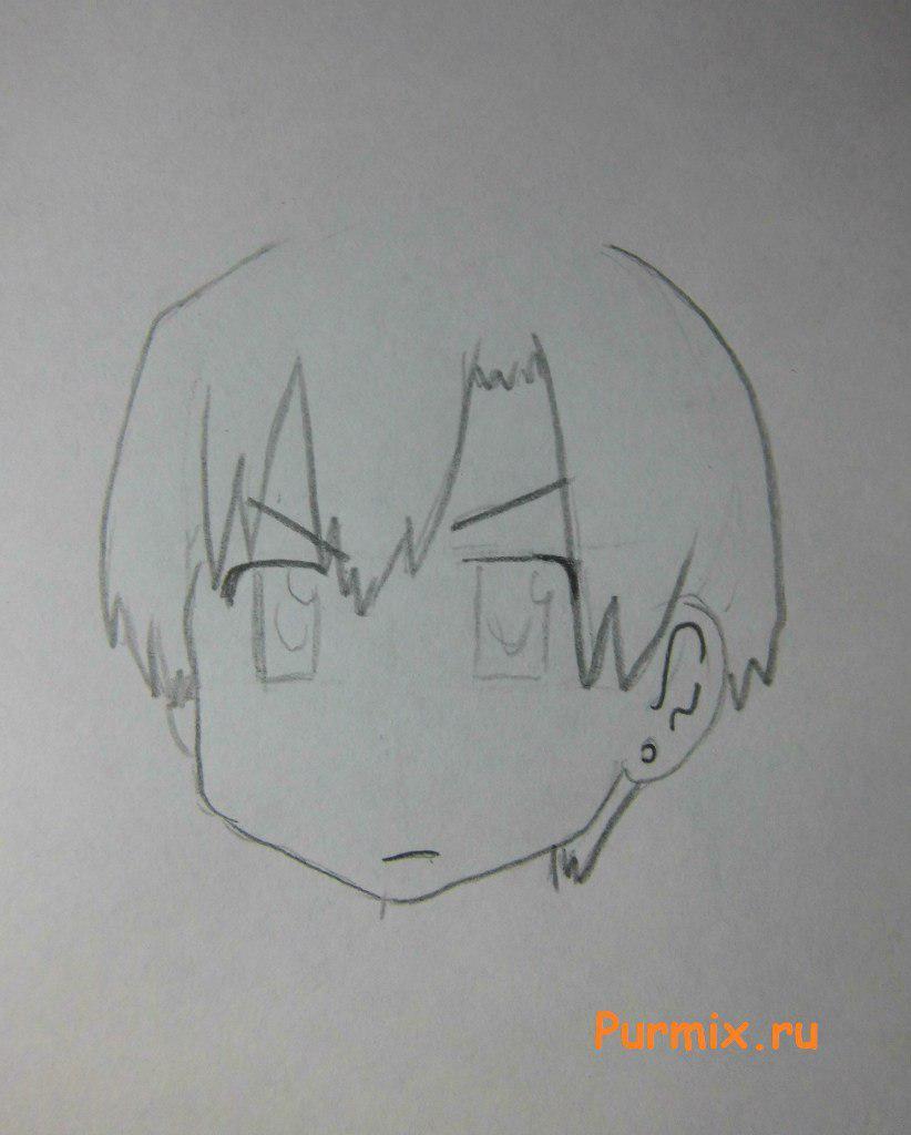 Рисуем Кана Накамура из Мелочи жизни простым