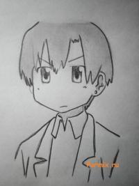 Рисунок Кана Накамура из Мелочи жизни простым