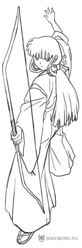 inuyasha coloring pages - inuyasha