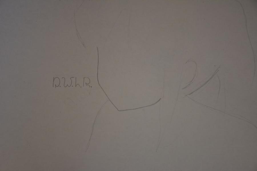 Рисуем Кобени из аниме Помолвлена с незнакомцем