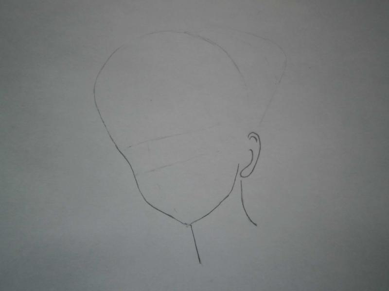 Как нарисовать красивую аниме девушку карандашом