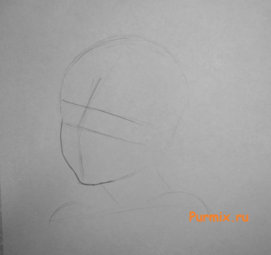 Рисуем Лаксуса Дрейара в стиле неко простым