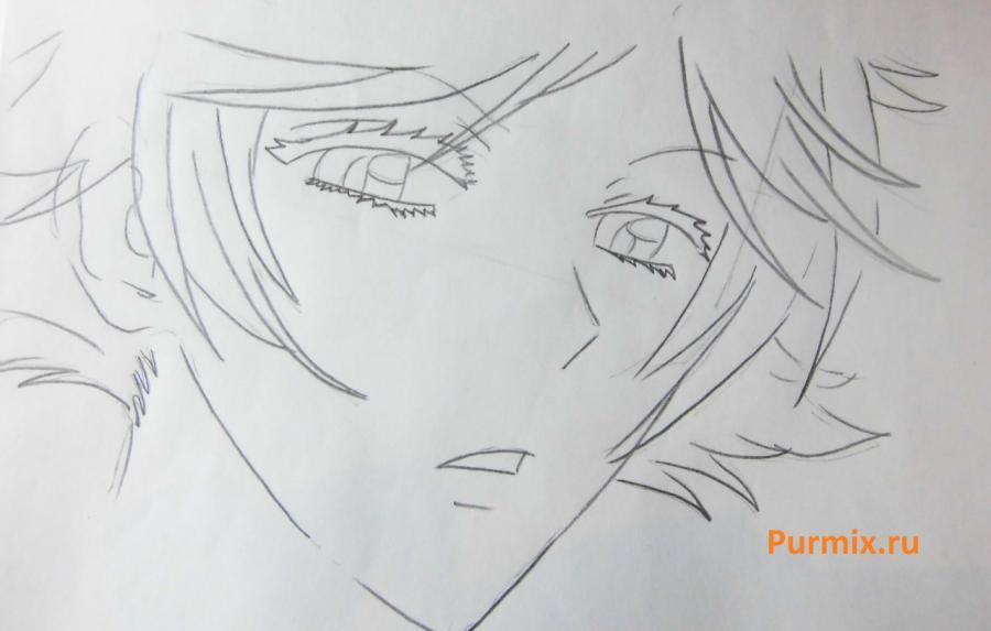 Рисуем Мидзуки из аниме Очень приятно, Бог