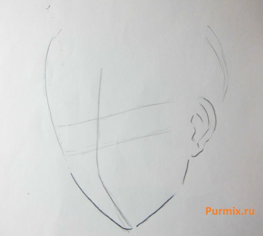 Рисуем Микагэ из аниме Очень приятно, Бог