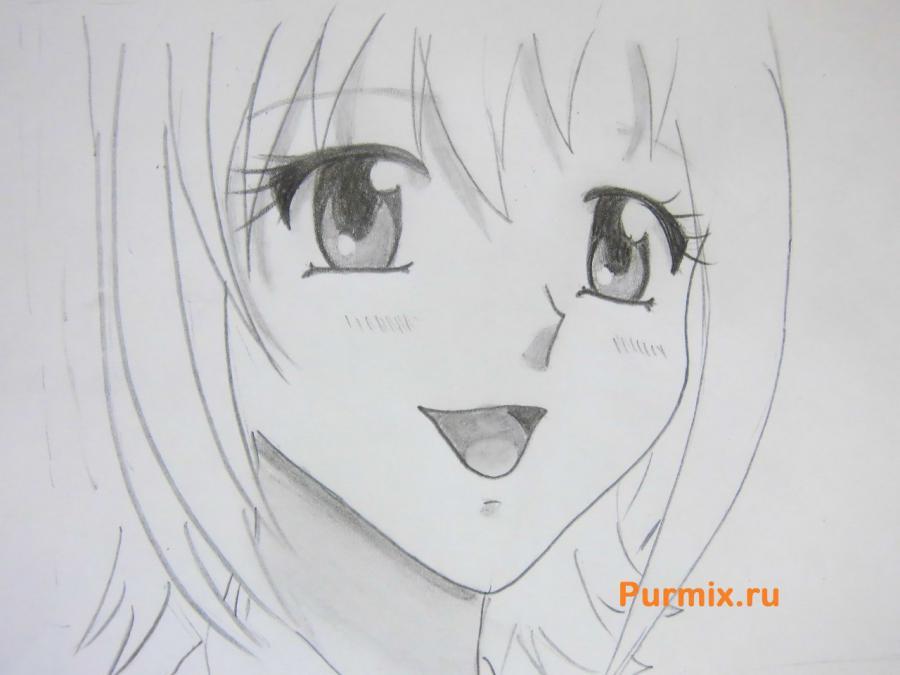 Кака нарисовать человека в стиле аниме