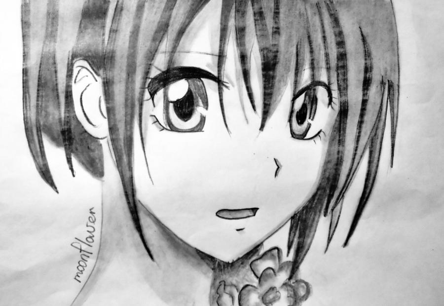 Как нарисовать Мисаки Аюдзава из аниме Президент студсовета – горничная