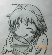 Мисаки Камиигуса из аниме Кошечка из Сакурасо