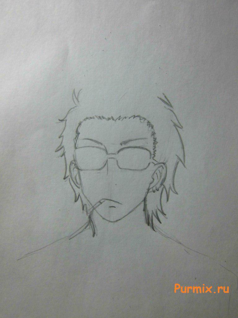 Рисуем Мисава Мицуёси из аниме Монстр за соседней партой