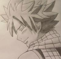 Рисунок Нацу Драгнил из Fairy Tail
