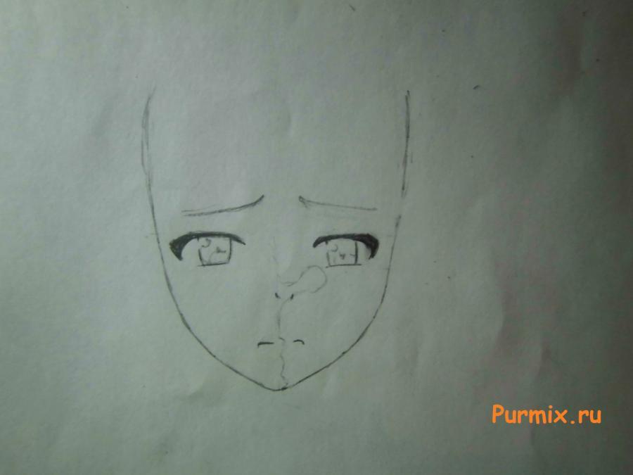 Рисуем Нанами Аояму из аниме Кошечка из Сакурасо