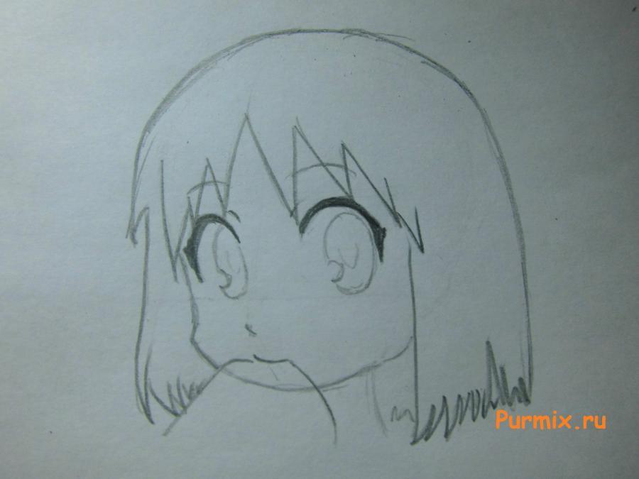 Рисуем Нано Синономэ из аниме Мелочи жизни