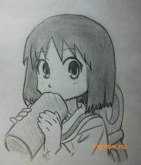 Нано Синономэ из аниме Мелочи жизни